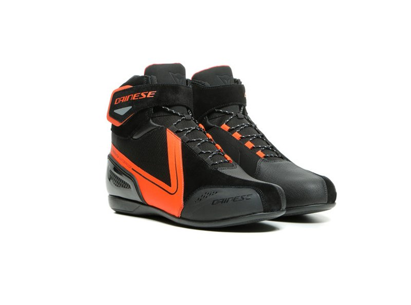 Dainese Energyca D-WP Shoes Black/Fluo-Red
