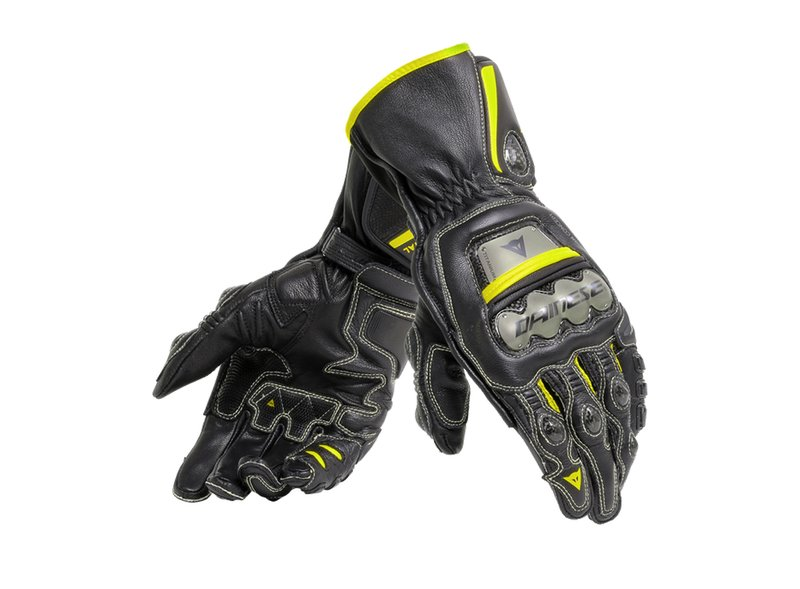 Dainese Full Metal Golves Yellow