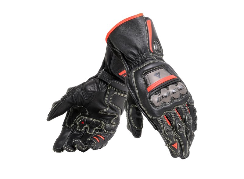 Dainese Full Metal Golves Red - Black