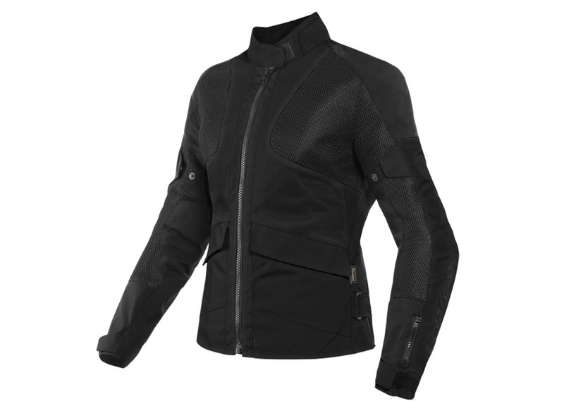 Dainese Air Tourer Tex Jacket Lady Black - Black