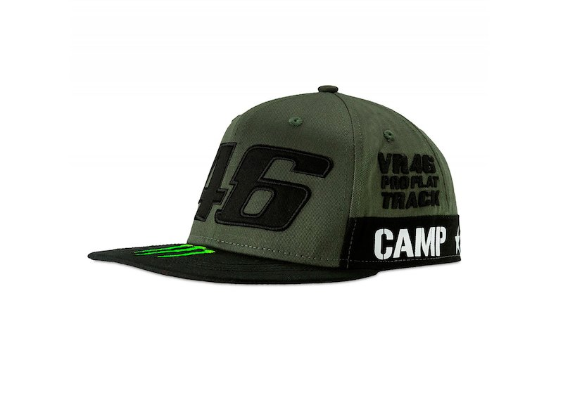 Cappellino Monster Camp Rossi 46