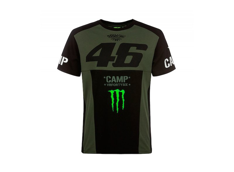 Camiseta Monster Camp Valentino Rossi - White