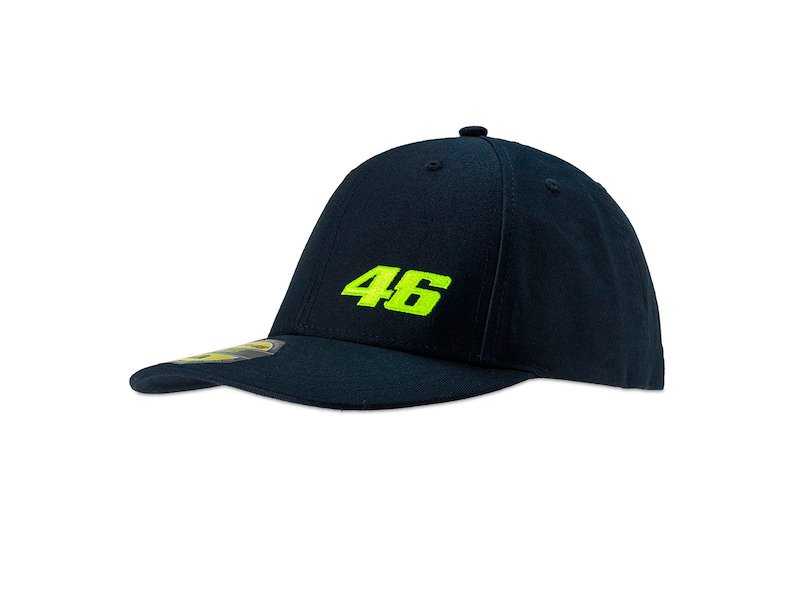VR46 Core blue cap - White