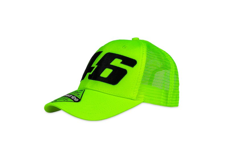 Core VR46 fluorescent trucker cap - White