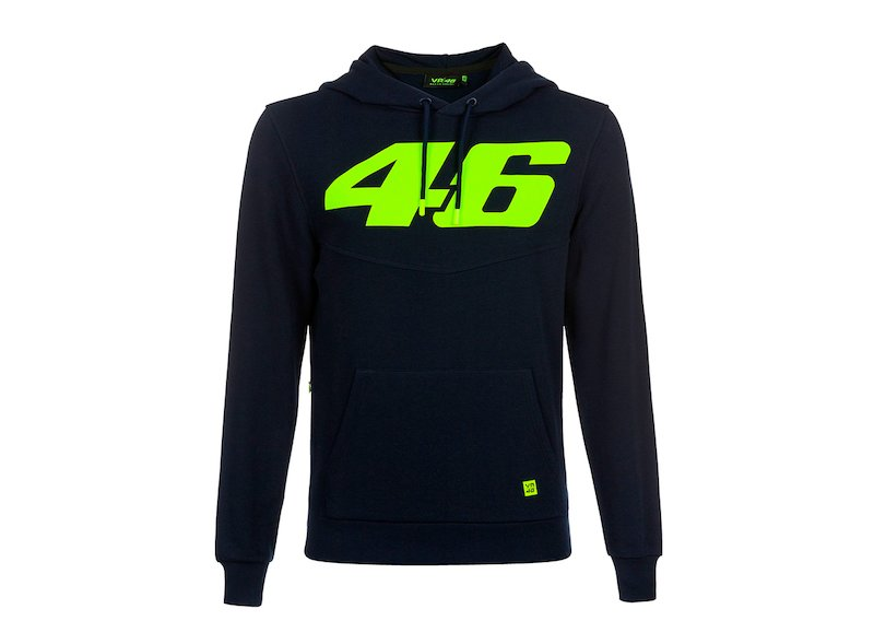 Sweat-shirt VR46 Core bleu