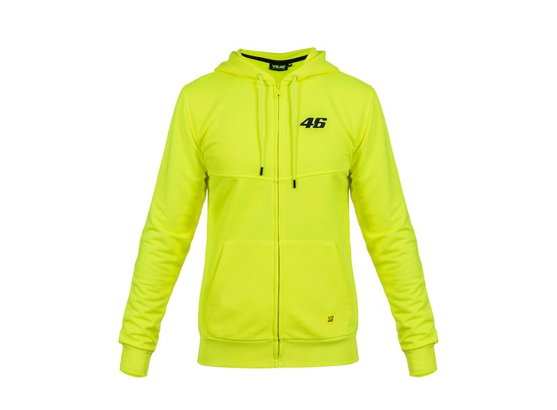 Sweat-shirt Rossi VR46 Core fluo - White