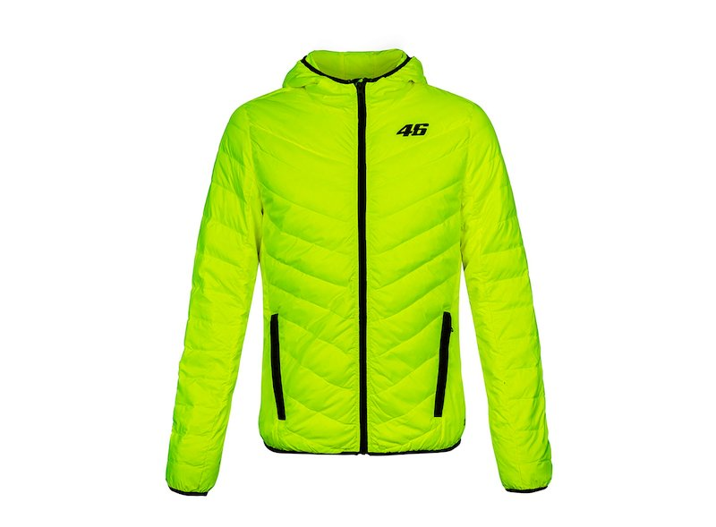Fluorescent Rossi Core puffer jacket