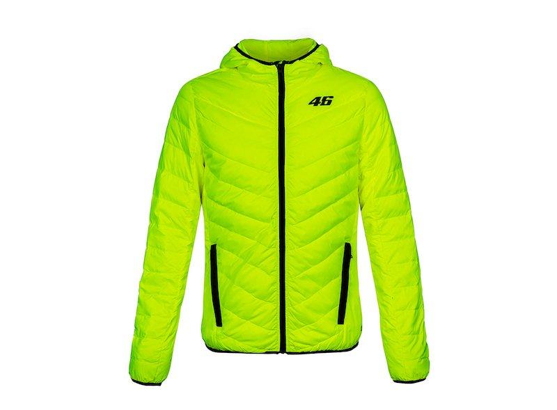 Fluorescent Rossi Core puffer jacket - White