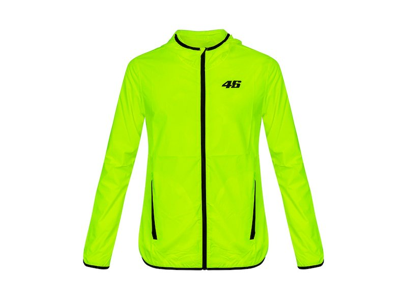 VR46 Core rainproof jacket - White