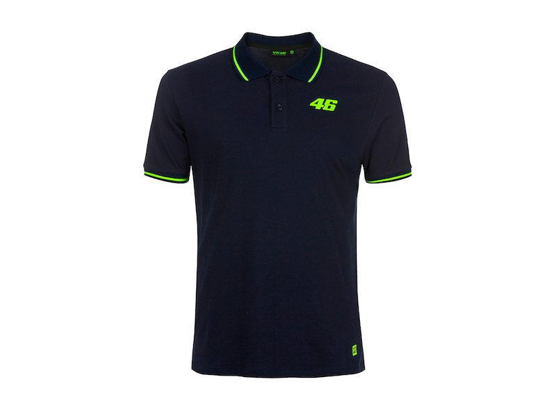 46 Core blue Rossi polo