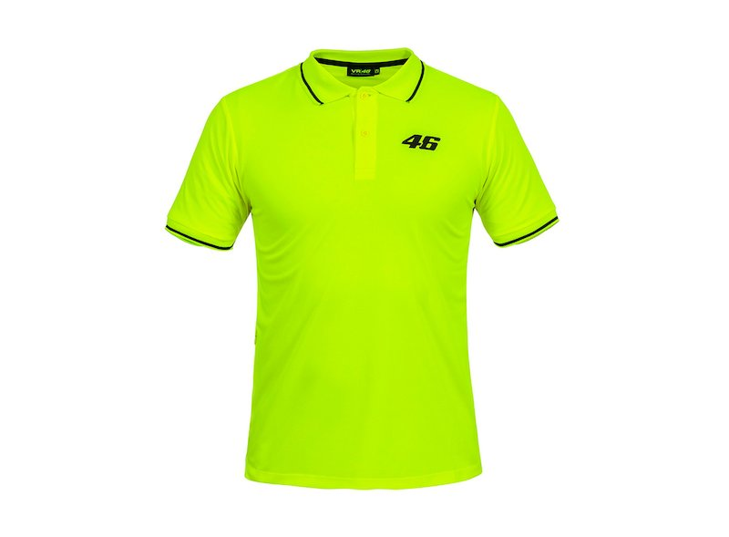 VR46 Core Rossi polo shirt - White