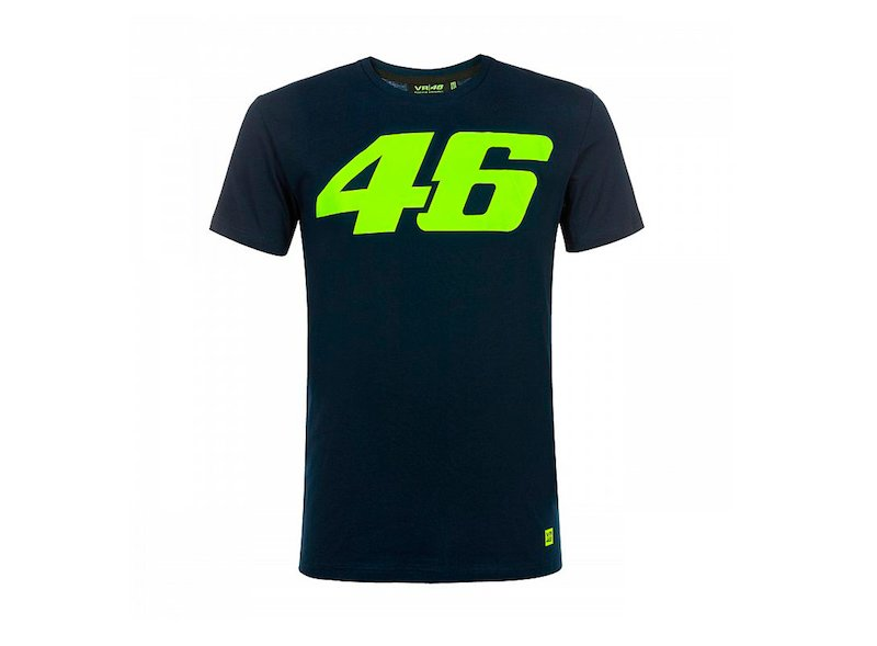T-shirt Rossi 46 Core bleu - White