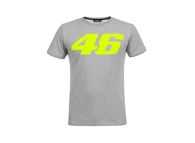 T-shirt Rossi Core gris - White