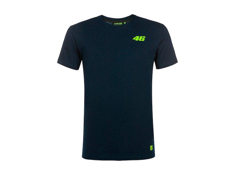 Rossi 46 T-shirt Core blue - White
