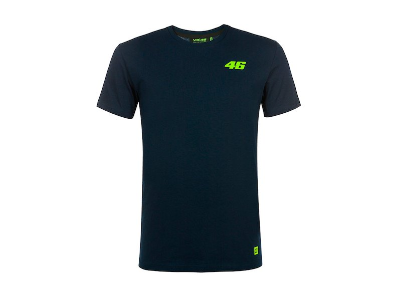 Rossi 46 T-shirt Core blue - White