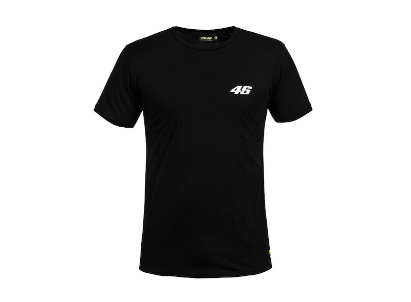Core VR46 black T-shirt - White