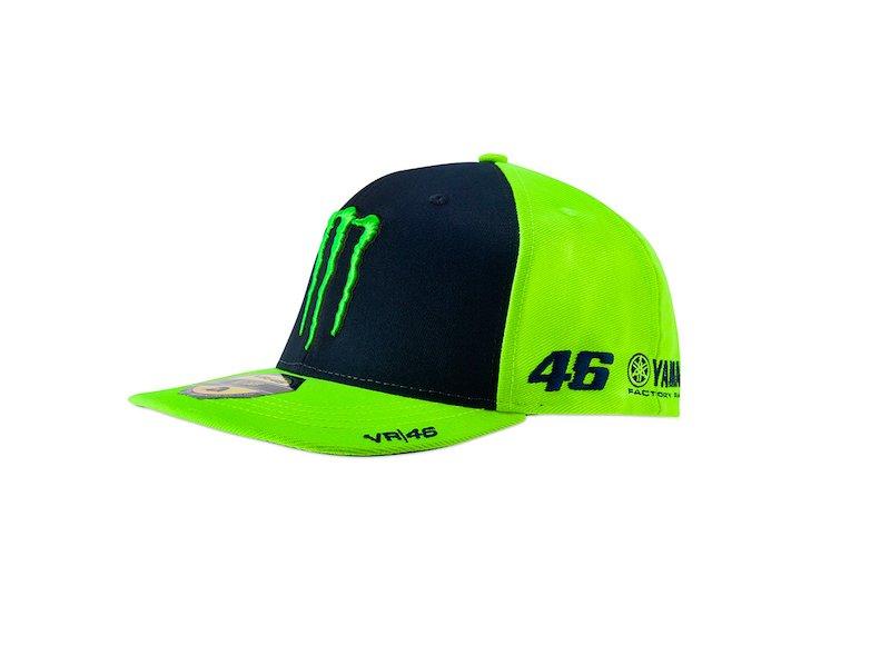 VR46 Casquette Baseball Valentino Rossi Cap r/éplique Casque Helmet