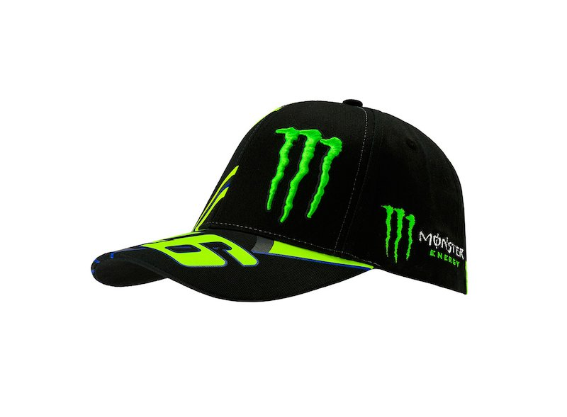 Monster 46 Replica Cap - White