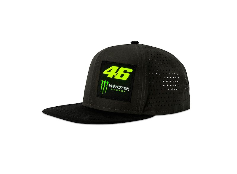 Monster 46  Adjustable Cap - White