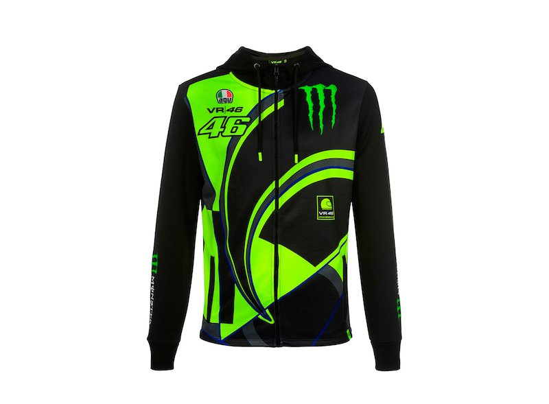 Sweatshirt Monster VR46 Replica - White