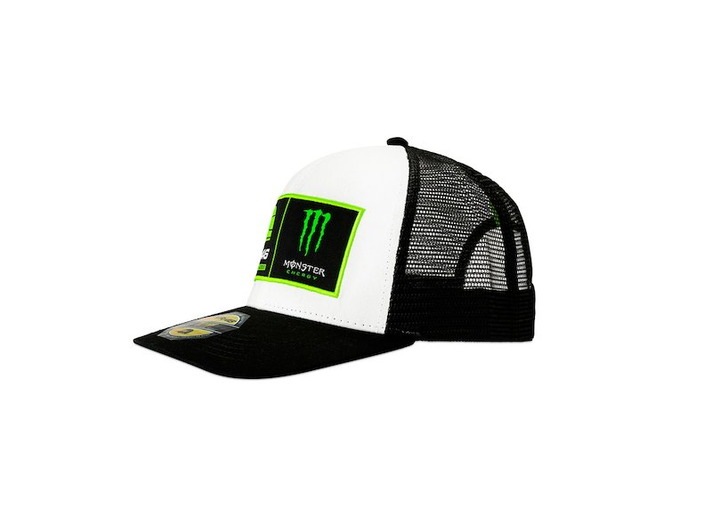 Riders Academy VR46 Monster Cap - White