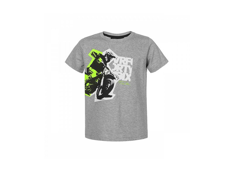 Camiseta niño VR46 - Grey