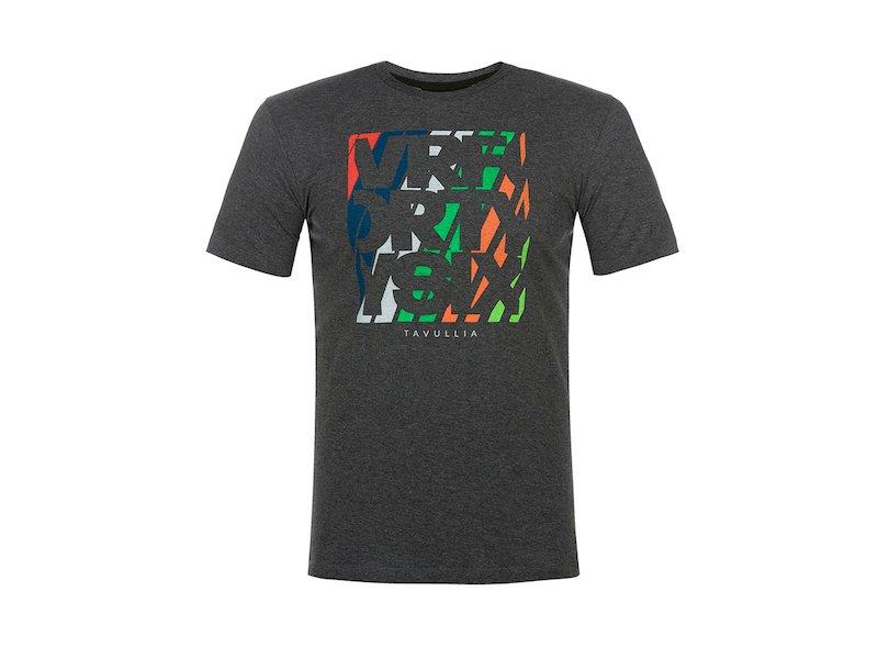 T-shirt grigia Fortysix Tavullia - White