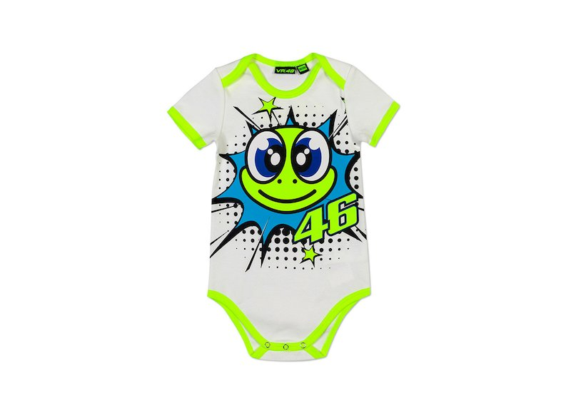 Baby Body Valentino Rossi turtle - White