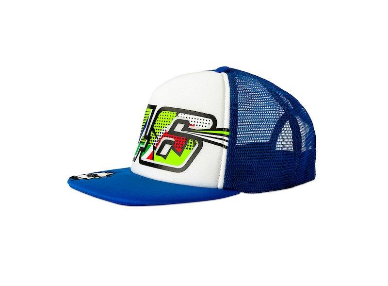 Rossi Trucker Cap Pop Art for children - White