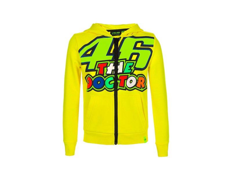 Valentino Rossi VR46 Moto GP The Doctor Stripes Mujer Tank Top Oficial Nuovo