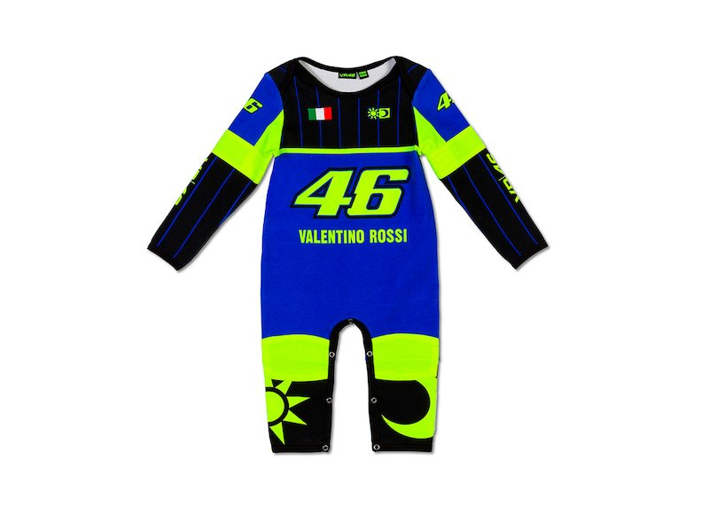 Valentino Rossi Réplica baby onesie Official