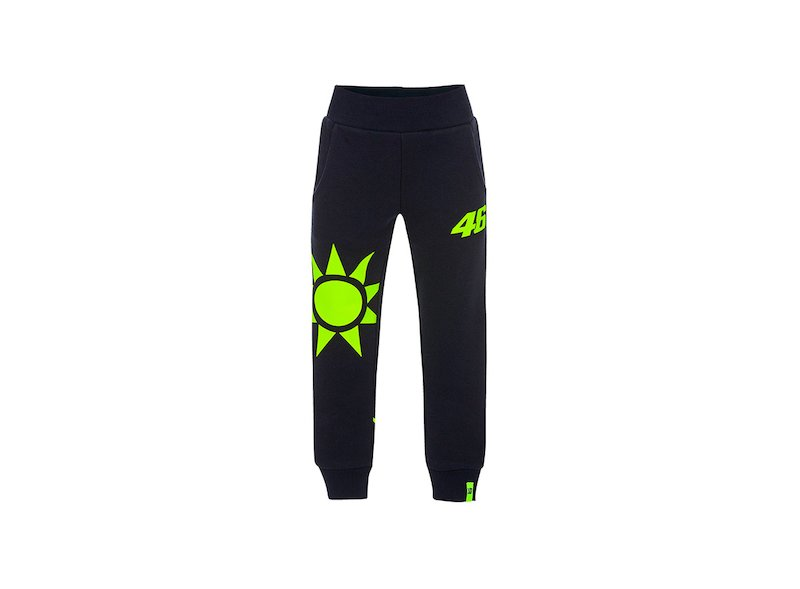 Sun and Moon Children's trousers VR46 - White