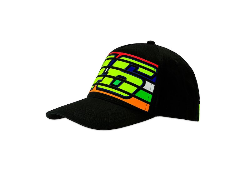 Gorra Valentino Rossi 46 stripes - White