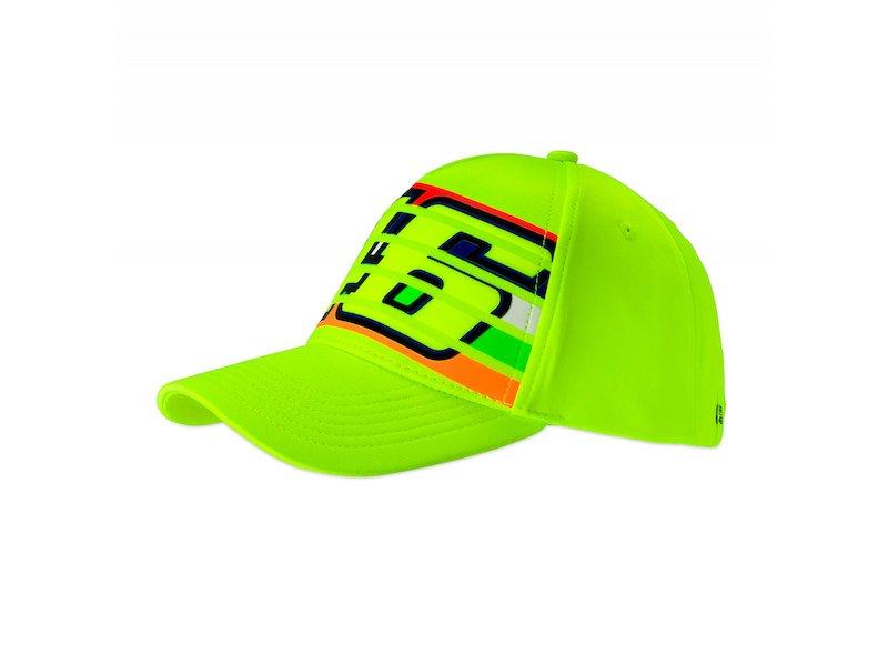 Cappellino fluo 46 Rossi stripes