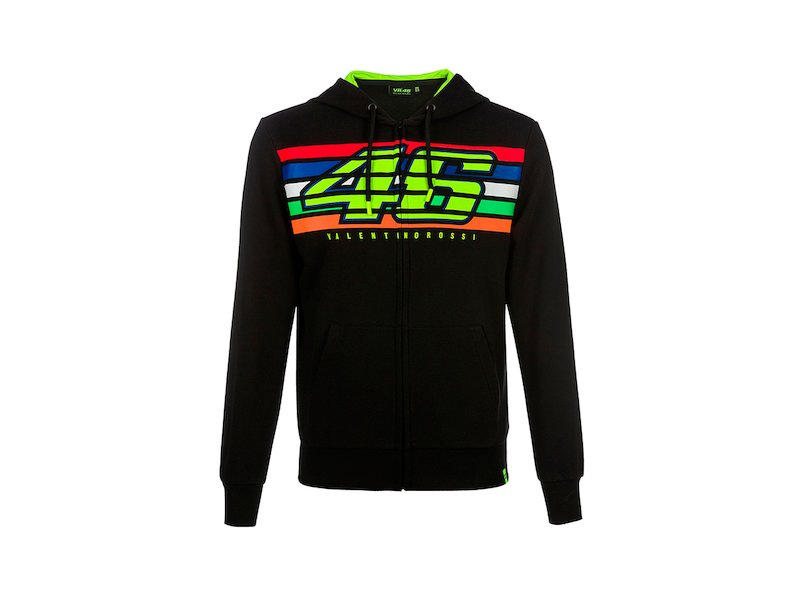 Sweat-shirt Valentino Rossi Stripes - White
