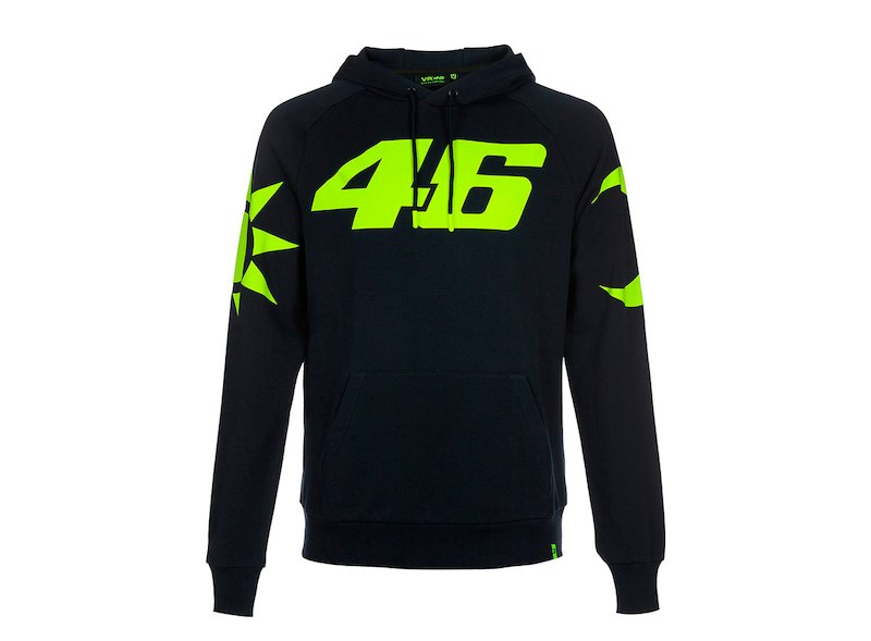 Sweat Réplica Casque Rossi VR46 - White
