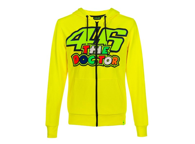 Rossi The Doctor 46 Sweatshirt - White