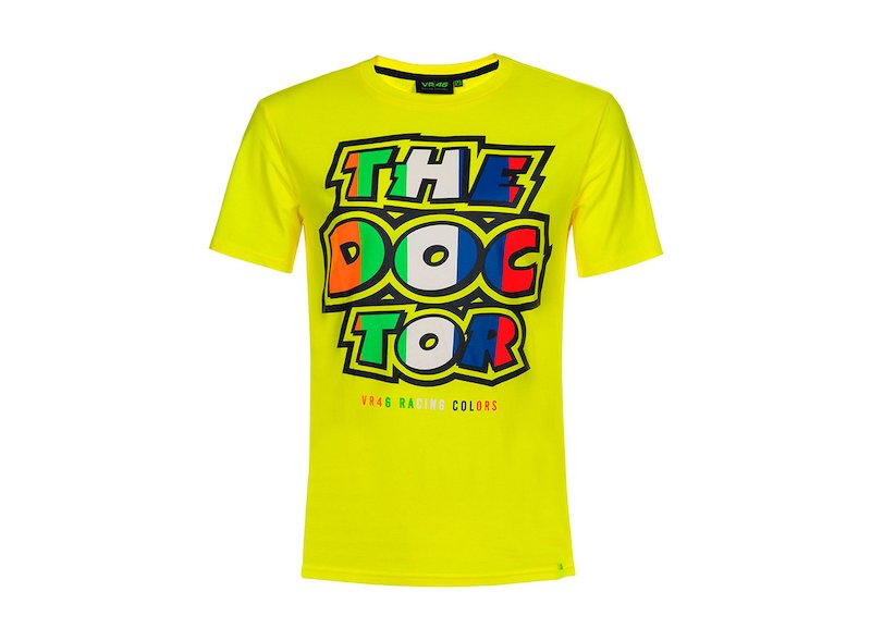 T-shirt The Doctor 46 classica - White