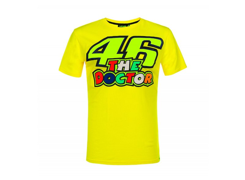 Camiseta Rossi The Doctor 46 - White