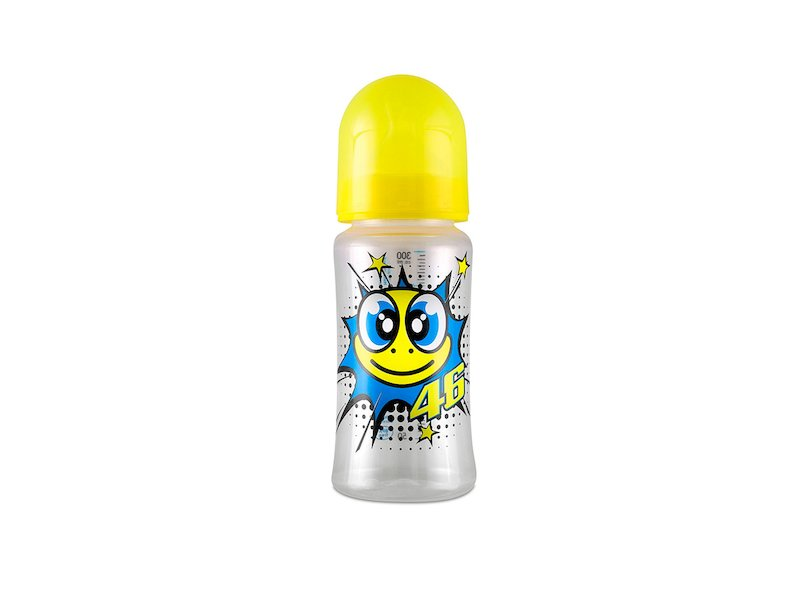 Turtle Rossi Baby Bottle - White