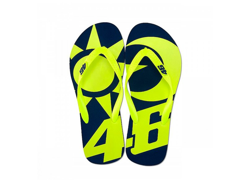 Valentino Rossi sun and moon flip-flop - White