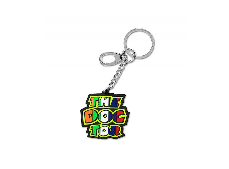 The Doctor PVC Key Ring