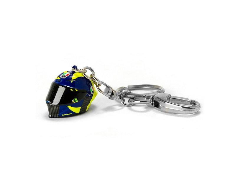 Rossi 3D helmet keyring 2019 - White