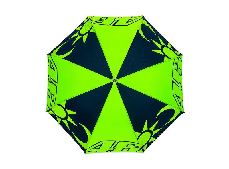 Rossi Sun and Moon Umbrella - White