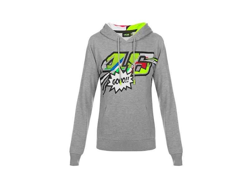 Pop Art Rossi Woman Sweatshirt