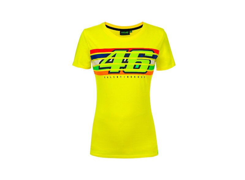 Stripes Rossi Woman T-Shirt - White