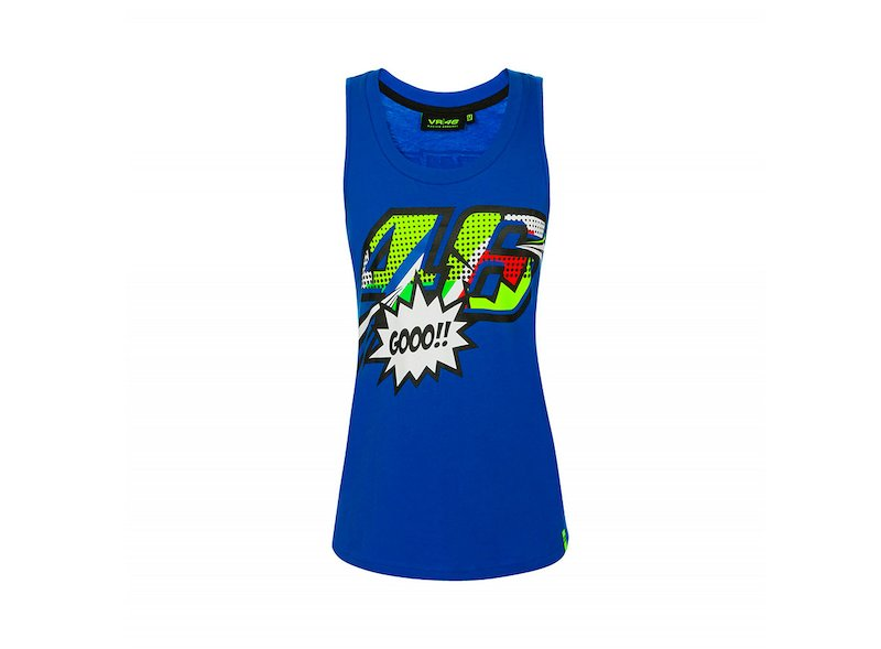 Rossi 46 Pop Art Vest