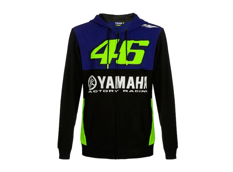 Sweat Yamaha Rossi VR46 M1 - White