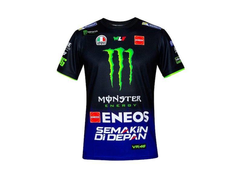 T-Shirt Yamaha Rossi M1 Replica