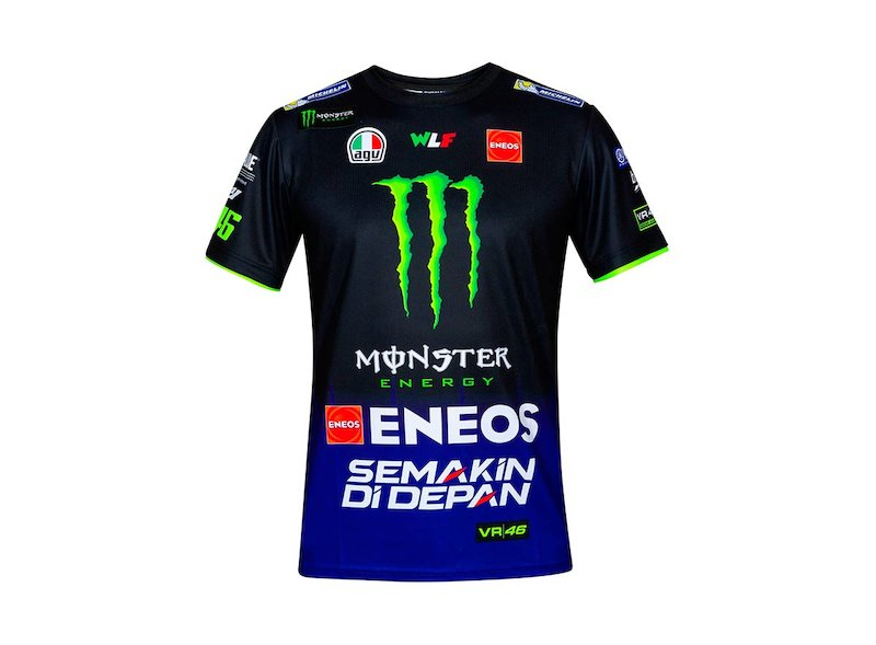 Yamaha Rossi M1 Replica T-Shirt